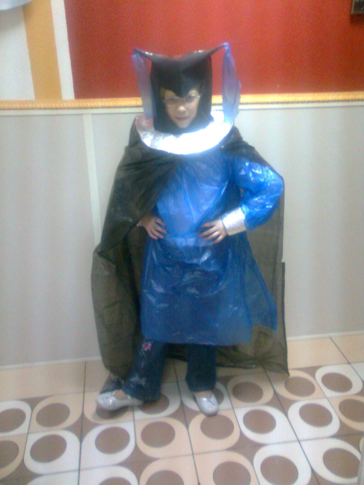 Детский костюм своими руками из подручных материалов
